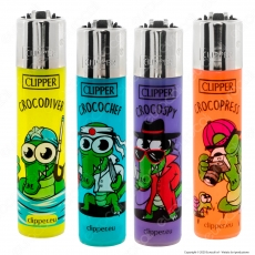 Clipper Large Traslucidi Fantasia Zoo Party 2 - 4 Accendini