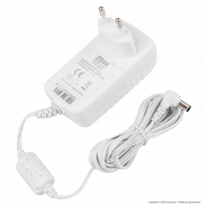 Led Line Alimentatore Socket Stabilised Switching Bianco - Mod. ZG24W12V(7)
