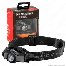Ledlenser Torcia LED Frontale MH3 Outdoor Headlamp Multiuso 200 lm