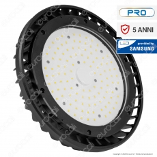 V-Tac PRO VT-9-114 Lampada Industriale LED 100W SMD Dimmerabile High Bay Chip Samsung - SKU 20063 / 20064
