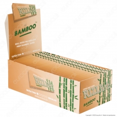 A00001002 - Cartine Rizla Bamboo Corte Ultra Thin Regular - Scatola da 50 Libretti