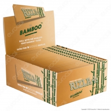 A00002001 - Cartine Rizla Bamboo King Size Slim Lunghe Ultra Thin - Scatola da 50 Libretti