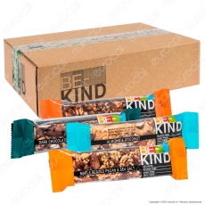 Be-Kind Box Snack con 6 Gusti - Box da 18 Barrette da 40g