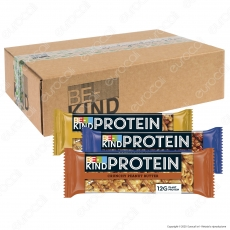 Be-Kind Protein Kit Snack con 3 Gusti - Box da 18 Barrette da 40g