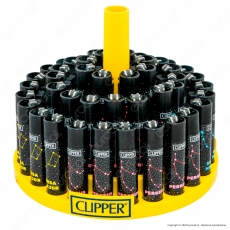 Clipper Large Fantasia Astronomic 2 - Box da 48 Accendini
