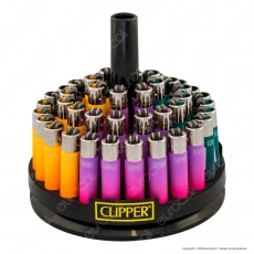 Clipper Micro Fantasia Painted 2 Gradient - Box da 48 Accendini