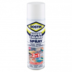Bostik Superchiaro Adesivo a Contatto Spray - Bomboletta da 500ml