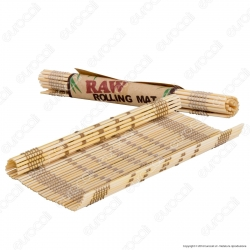 Raw Rolling Mat Tappeto di Rollaggio in Bamboo