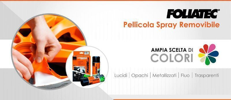 Vernici spray: Pellicola Spray Removibile Foliatec