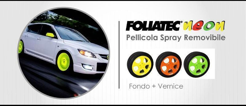 Pellicola Spray Removibile Foliatec